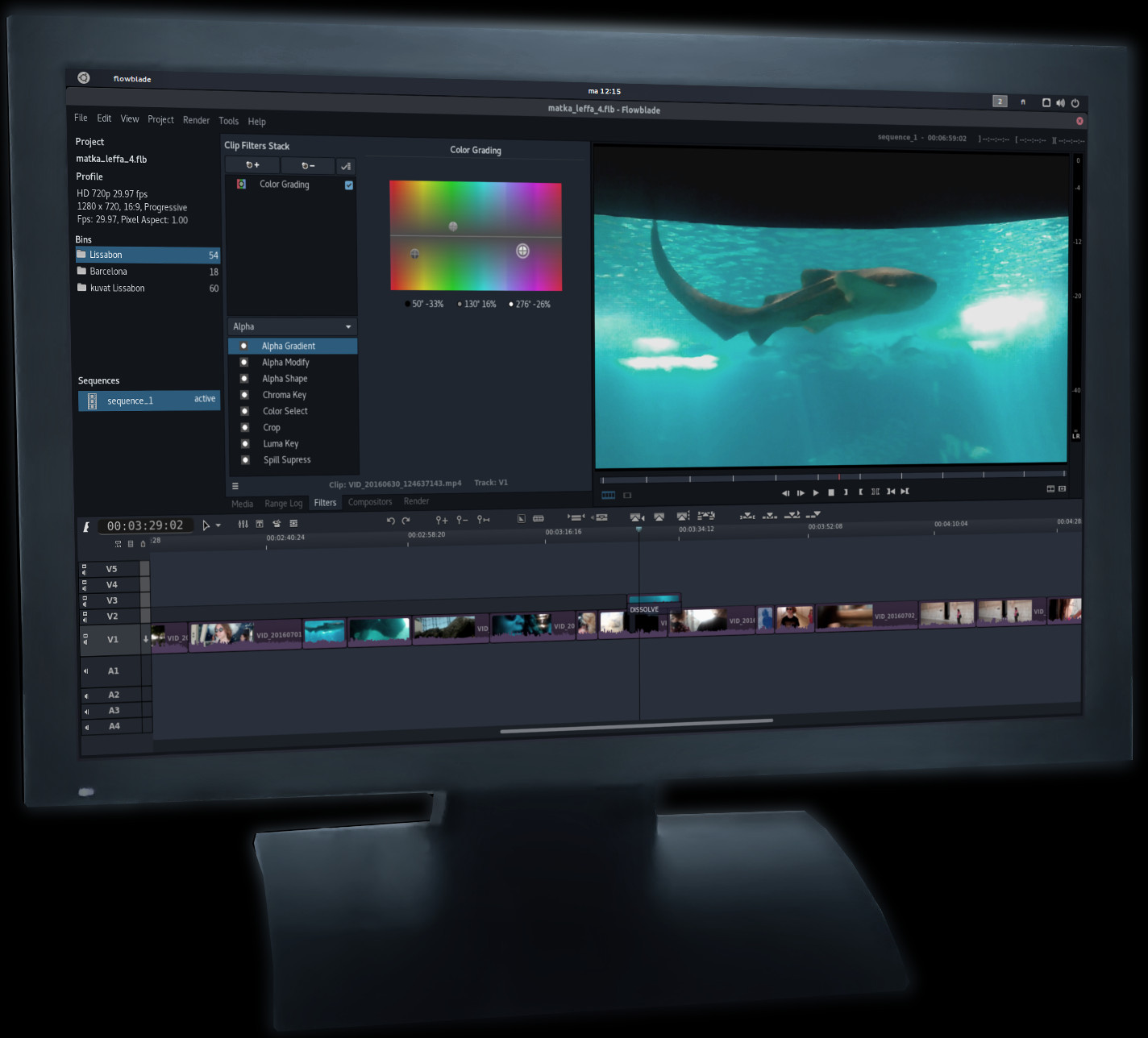 Flowblade - Free & Libre Video Editor